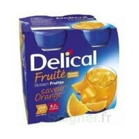 DELICAL BOISSON FRUITEE Nutriment orange 4Bouteilles/200ml à CUISERY