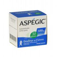 ASPEGIC 500 mg, poudre pour solution buvable en sachet-dose 30 à CUISERY