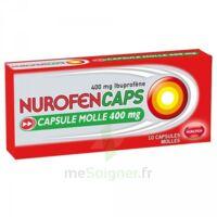 Nurofencaps 400 Mg Caps Molle Plq/10 à CUISERY