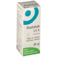 FLUIDABAK 1,5 %, collyre en solution à CUISERY