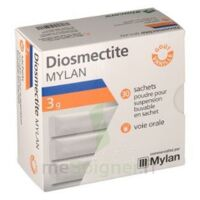 DIOSMECTITE MYLAN 3 g Pdr susp buv 30Sach/3g à CUISERY