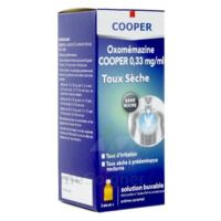 OXOMEMAZINE H3 SANTE 0,33 mg/ml SANS SUCRE, solution buvable édulcorée à l'acésulfame potassique à CUISERY