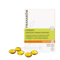 PRANAROM OLEOCAPS 3 Caps digestion & transit intestinal à CUISERY