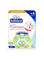 BEBISOL SLIM Sucette physiologique silicone jour T2 à CUISERY