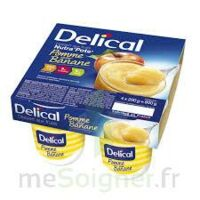 DELICAL NUTRA'POTE DESSERT AUX FRUITS, 200 g x 4 à CUISERY