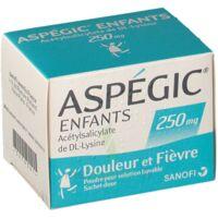 ASPEGIC ENFANTS 250, poudre pour solution buvable en sachet-dose à CUISERY