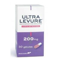 ULTRA-LEVURE 200 mg Gélules Fl/30 à CUISERY