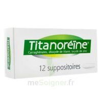 TITANOREINE Suppositoires B/12 à CUISERY
