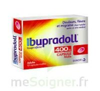 IBUPRADOLL 400 mg Caps molle Plq/10 à CUISERY