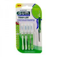 Gum Trav - Ler, 1,1 Mm, Manche Vert , Blister 4 à CUISERY