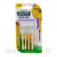 GUM TRAV - LER, 1,3 mm, manche jaune , blister 4 à CUISERY
