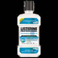 Listerine Professionnel Bain bouche traitement sensibilité 500ml à CUISERY