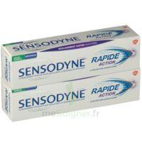 Sensodyne Rapide Pâte dentifrice dents sensibles 2*75ml à CUISERY