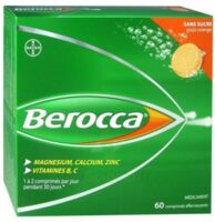 Berocca Comprimés effervescents sans sucre T/60 à CUISERY
