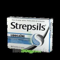 Strepsils Lidocaïne Pastilles Plq/24 à CUISERY