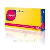 Oligosol Lithium Solution Buvable En Ampoule Ou En Récipient Unidose 28amp/2ml à CUISERY