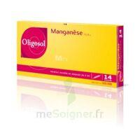 Oligosol Manganèse Solution buvable en ampoule 14Amp/2ml à CUISERY