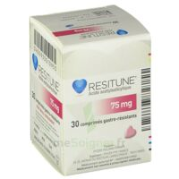 RESITUNE 75 mg, comprimé gastro-résistant à CUISERY