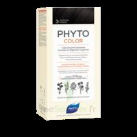 Phytocolor Kit coloration permanente 3 Châtain foncé à CUISERY