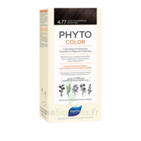 Phytocolor Kit coloration permanente 4.77 Châtain marron profond à CUISERY