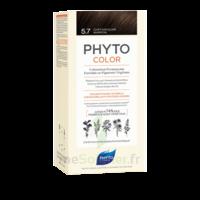 Phytocolor Kit coloration permanente 5.7 Châtain clair marron à CUISERY