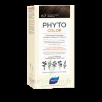Phytocolor Kit coloration permanente 6.7 Blond foncé marron à CUISERY