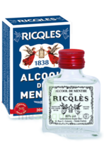 Ricqles 80° Alcool de menthe 30ml
