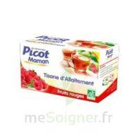 Picot Maman Tisane d'allaitement Fruits rouges 20 Sachets à CUISERY
