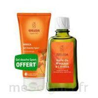 Weleda huile de massage arnica 200ml  + Gel douche OFFERT à CUISERY