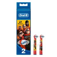 Oral B Incredibles 2 Brossette kids Blister/2 à CUISERY