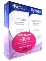 Hydralin Quotidien Gel Lavant Usage Intime 2*200ml à CUISERY