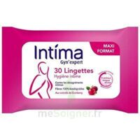 Intima Gyn'Expert Lingettes Cranberry Paquet/30 à CUISERY