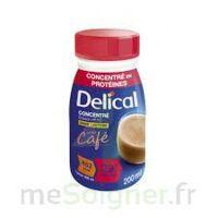 DELICAL BOISSON HP HC CONCENTREE Nutriment café 4Bouteilles/200ml à CUISERY