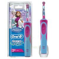 Oral B Kids Stages Power Brosse dents électrique Reine des Neiges à CUISERY