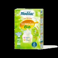 Modilac Céréales Farine 5 Céréales bio à partir de 6 mois B/230g à CUISERY