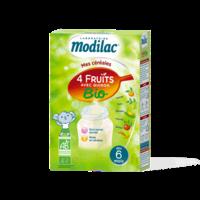 Modilac Céréales Farine 4 Fruits quinoa bio à partir de 6 mois B/230g à CUISERY