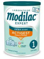 Modilac Expert Actigest 1 Lait poudre B/800g à CUISERY