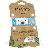 PARA'KITO KIDS Bracelet répulsif anti-moustique polar bear à CUISERY