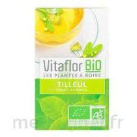 Vitaflor - Bio Tisane Tilleul 18 sachets à CUISERY