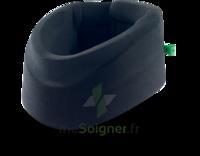 Cervix 2 Collier Cervical Semi Rigide Noir/vert H7,5cmt2 à CUISERY