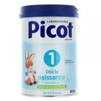 Picot Standard 1 Lait poudre B/800g à CUISERY
