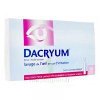 DACRYUM S p lav opht en récipient unidose 10Unid/5ml à CUISERY