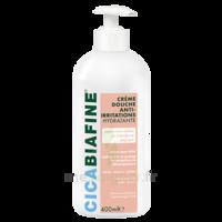 Cicabiafine Crème douche anti-irritations Bouteille Fl pompe/400ml à CUISERY