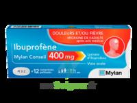 IBUPROFENE MYLAN CONSEIL 400MG, comprimés pelliculés à CUISERY