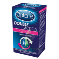 OPTONE DOUBLE ACTION Solution oculaire yeux secs Fl/10ml promo à CUISERY