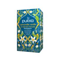 Pukka Bio Camomille, Vanille Et Miel De Manuka Tisane Relax 20 Sachets à CUISERY