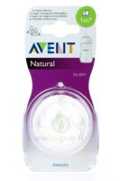 TETINE AVENT NATURAL DEBIT LENT x 2 à CUISERY