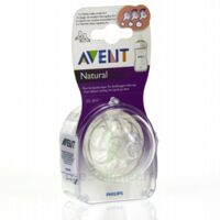 TETINE AVENT NATURAL DEBIT VARIABLE x 2 à CUISERY