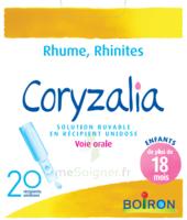 Boiron Coryzalia Solution buvable unidose B/20 à CUISERY