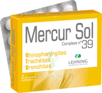Lehning Mercur Sol Complexe N°39 Comprimés Sublinguals B/60 à CUISERY